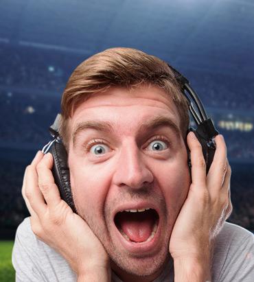 Relatos dos 3 grandes na Liga principal de futebol